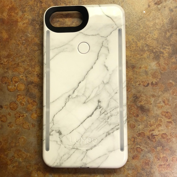 best sneakers fd973 a848a LuMee Duo Marble Case for iPhone 8 Plus